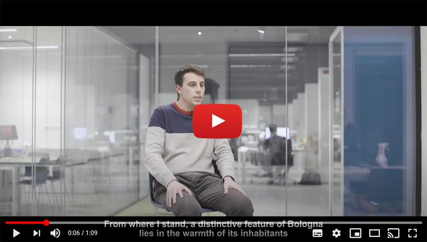 BOLOGNA START PLANNING YOUR FUTURE: Intervista a Francesco Di Bucchianico | Manufacturing Engineering | BONFIGLIOLI