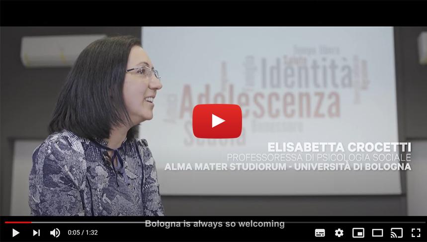 BOLOGNA START PLANNING YOUR FUTURE: Intervista a Elisabetta Crocetti | Professoressa di psicologia sociale | ALMA MATER STUDIORUM - UNIVERSITÀ DI BOLOGNA