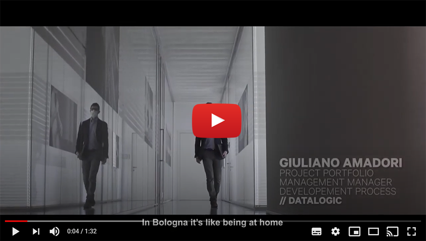 BOLOGNA START PLANNING YOUR FUTURE: Intervista a Giuliano Amadori | Project Portfolio Manager Development Process | DATALOGIC