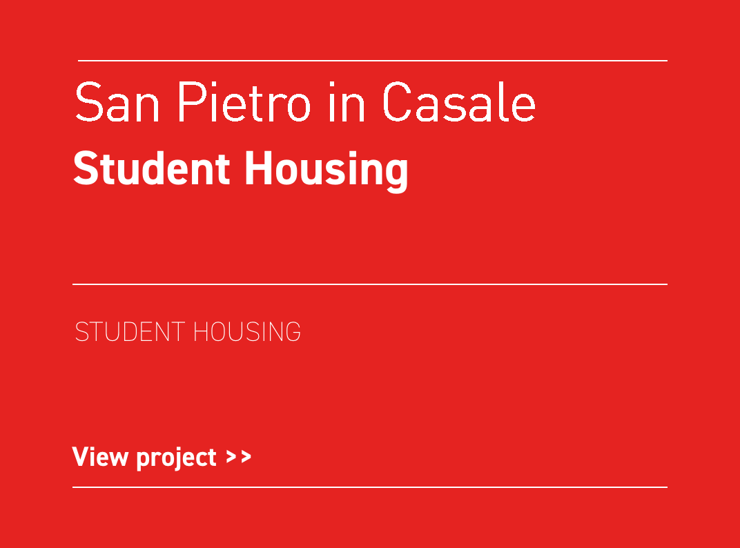 San Pietro in Casale Student Housing