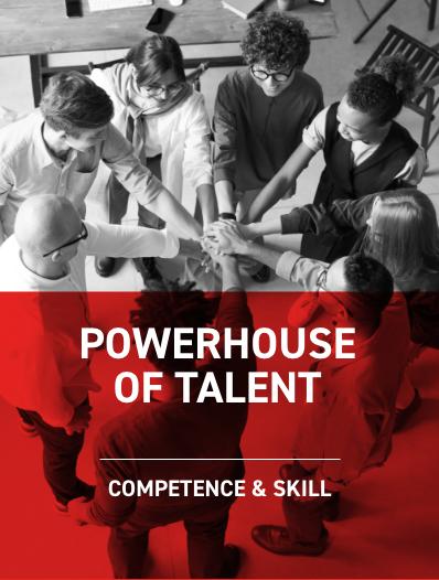 Powerhouse of talent