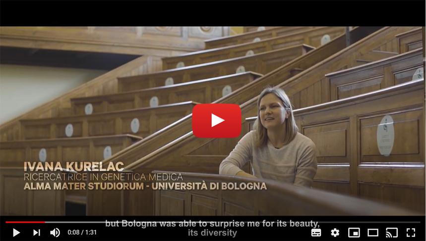 BOLOGNA START PLANNING YOUR FUTURE: Intervista a Ivana Kurelac | Ricercatrice in genetica medica | ALMA MATER STUDIORUM - UNIVERSITÀ DI BOLOGNA