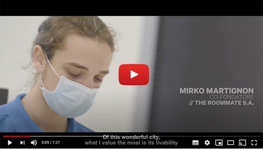 BOLOGNA START PLANNING YOUR FUTURE: Intervista a Mirko Martignon | Co-fondatore | The Roommate S.A.