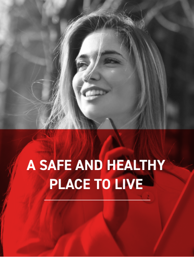 A safe and Healthy Place to live