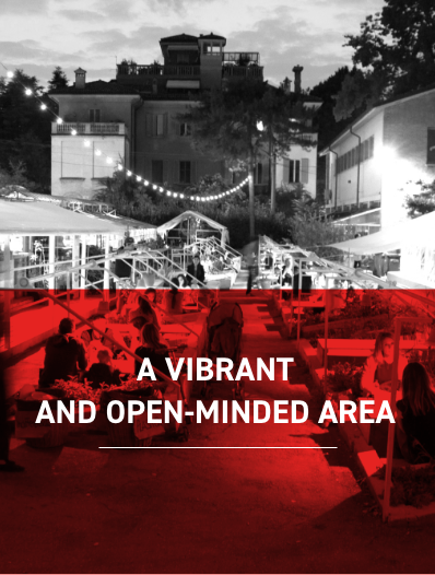 A Vibrant and open-minded Area