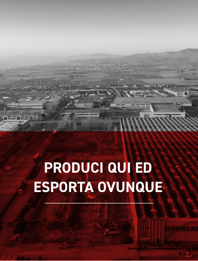 Produci qui ed esporta ovunque