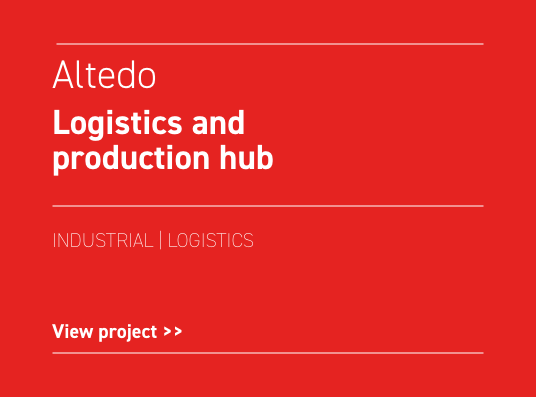 Altedo Logistics and production hub