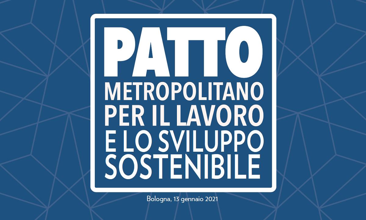 Patto metropolitano per il lavoro e lo sviluppo sostenibile, simbolo di una società resiliente